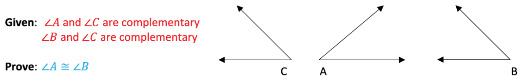 Geometric Proofs Complementary